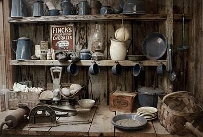 Old World Pantry Poster by Chrystyne Novack