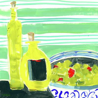 Olive Oil II Poster by Pamela J. Wingard