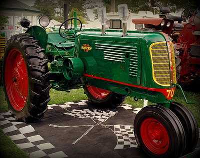 Oliver 70 Row Crop Poster by Scott Polley