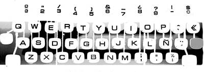 Olivetti Keyboard Buttons Poster by Gina Dsgn