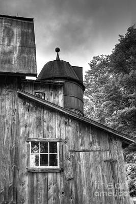 Olsen Barn At Port Oneida Poster by Twenty Two North Photography