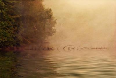 On Golden Pond Poster by Tom Mc Nemar