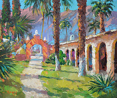 On The Old Hacienda Poster by Dmitry Spiros