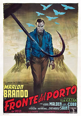 On The Waterfront, Aka Fronte Del Poster by Everett