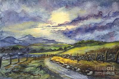 Calm After The Storm Poster by Carol Wisniewski