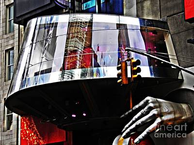 On West 42nd Street 3 Poster by Sarah Loft
