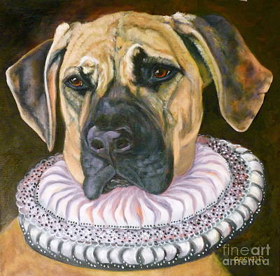 One Formal Pooch Poster by Susan A Becker