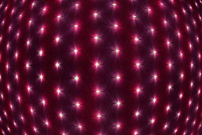Optic Lights Background 3 Poster by Lanjee Chee