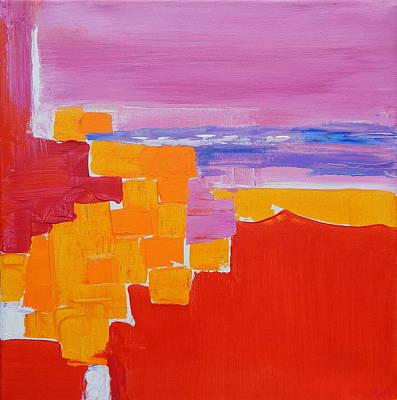 Sea Side Impression Poster by Expressionistartstudio Priscilla-Batzell