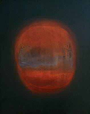Orange Orb Poster by Kongtrul Jigme Namgyel