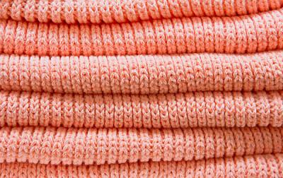 Orange Sweaters Poster by Tom Gowanlock