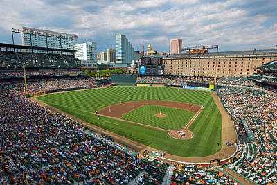 Oriole Park At Camden Yards Poster by Mark Whitt