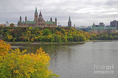 Ottawa Scenic View Poster by Charline Xia