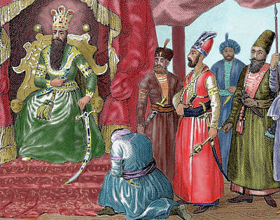 Ottoman Empire Sultan Welcoming Poster by Prisma Archivo