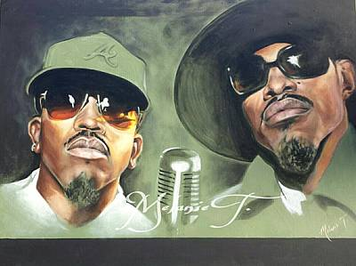 Outkast  Poster by Melanie T