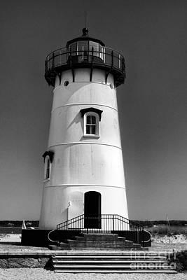 Outside Edgartown Lighthouse Poster by Mark Miller