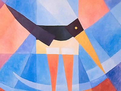 Oystercatcher Deco Poster by Lutz Baar