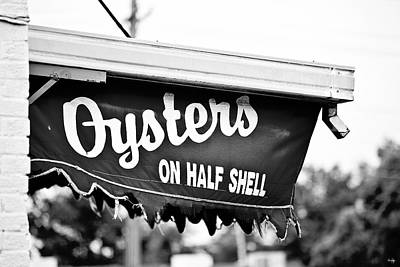 Oysters On Half Shell Poster by Scott Pellegrin