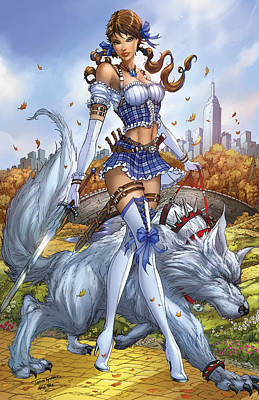 Oz 03e Poster by Zenescope Entertainment