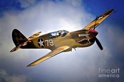 P-40 Warhawk No. 79 Poster by Gus McCrea