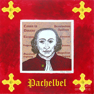Pachelbel Poster by Paul Helm