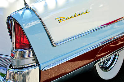 Packard Taillight Poster by Jill Reger