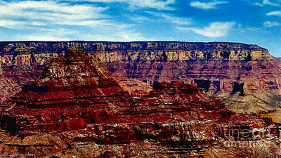 Painting The Grand Canyon National Park Poster by Bob and Nadine Johnston