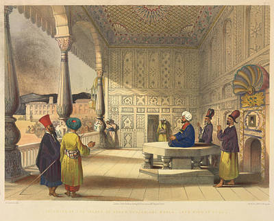 Palace Of Shauh Shujah Ool Moolk Poster by British Library