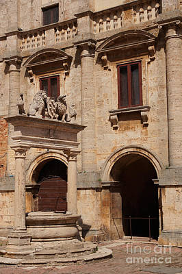Palazzo Nobili-tarugi, Italy Poster by Hubertus Kanus