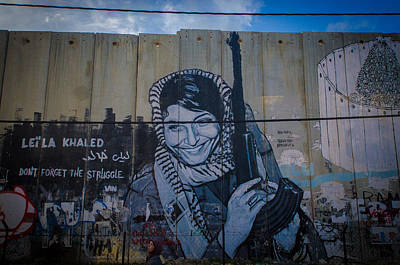 Palestinian Graffiti Poster by David Morefield