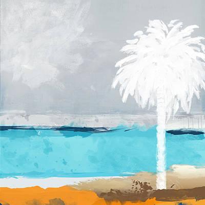 Palm Tree Poster by Galia Nof Taboch