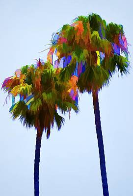 Palms 8 Poster by Pamela Cooper