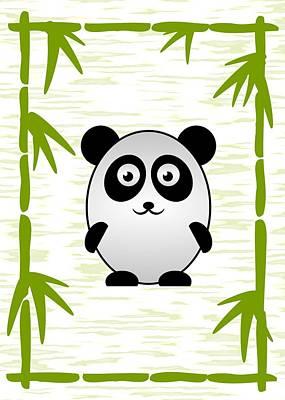 Panda - Animals - Art For Kids Poster by Anastasiya Malakhova