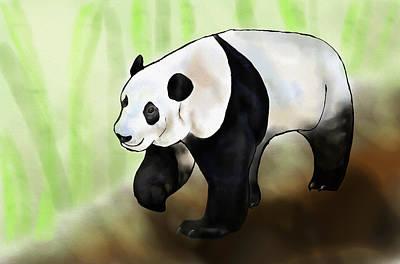 Panda Poster by Pati Photography