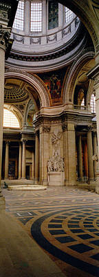 Pantheon Interior Paris France Poster by Panoramic Images