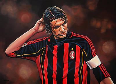 Paolo Maldini Poster by Paul Meijering