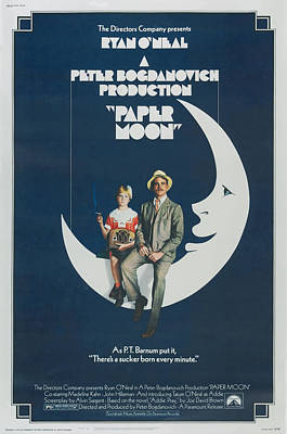 Paper Moon Poster by Georgia Fowler