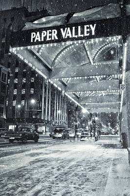 Paper Valley Poster by Joel Witmeyer