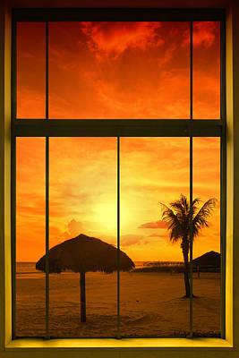 Paradise View I Poster by Melanie Viola