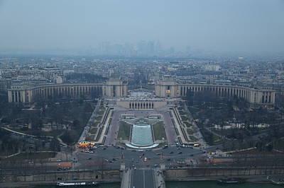 Paris France - Eiffel Tower - 011315 Poster by DC Photographer