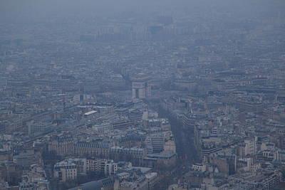 Paris France - Eiffel Tower - 01138 Poster by DC Photographer