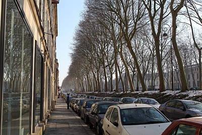 Paris France - Street Scenes - 011318 Poster by DC Photographer