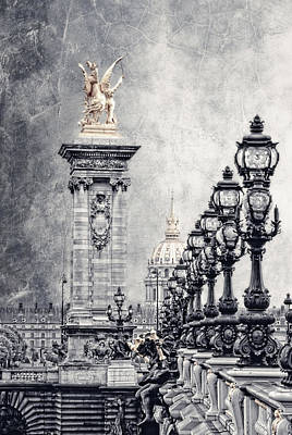 Paris Pompous 2 Poster by Joachim G Pinkawa