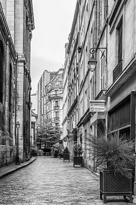 Parisian Street Poster by Georgia Fowler