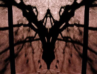 Pass Through Domesticated Shadows 2013 Poster by James Warren