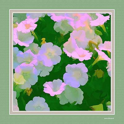 Pastel Flowers II Poster by Tom Prendergast