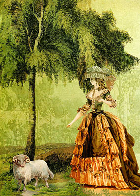 Pastoral Lady Poster by Sarah Vernon