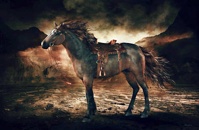 Patience Bay Horse Poster by Shanina Conway