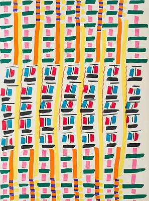 Pattern #2 Poster by Rick Stecz