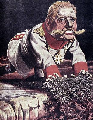 Paul Von Hindenburg (1847-1934) Poster by Granger